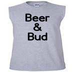 Beer and Bud Tank Top Sleeveless Unisex Shirt Adult Pro Weed S-2X Merch Massacre Free Shipping