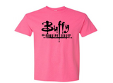 Buffy the Vampire Slayer T Shirt Adult Clothes S-5X Willow Chosen Hellmouth Sunnydale Slayers Horror Halloween Unisex Free Shipping Merch Massacre
