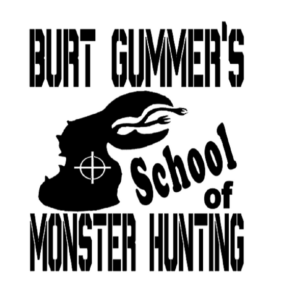 Tremors Burt Gummer Vinyl Decal Sticker Graboid Crossing Horror Sci Fi Free Shipping Merch Massacre