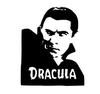 Dracula Vampire Vinyl Decal Sticker Horror Free Shipping Merch Massacre