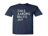 Ghost Adventures T Shirt Adult Clothes S-5X Zak Bagans Aaron Billy Jay Believe Paranormal Investigator Horror Unisex Free Shipping Merch Massacre
