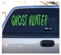 Paranormal Ghost Hunter Vinyl Decal Horror Sticker Computer Free Shipping Merch Massacre
