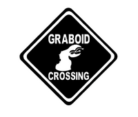 Tremors Graboid Crossing Vinyl Decal Sticker Burt Gummer Horror Sci Fi Free Shipping Merch Massacre