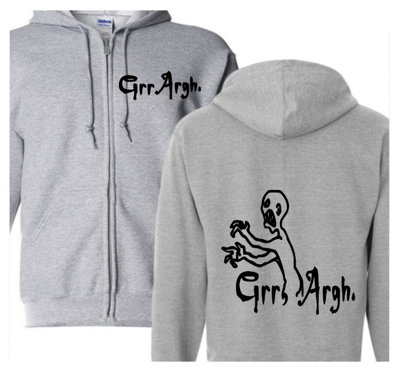 Buffy the Vampire Slayer Zip Up Hoodie Hooded Sweatshirt Unisex S-5X Adult Grr Argh Horror Free Shipping Merch Massacre