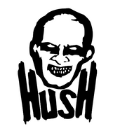 Buffy the Vampire Slayer Hush Vinyl Decal Sticker Mutant Enemy Horror Gentleman Free Shipping Merch Massacre