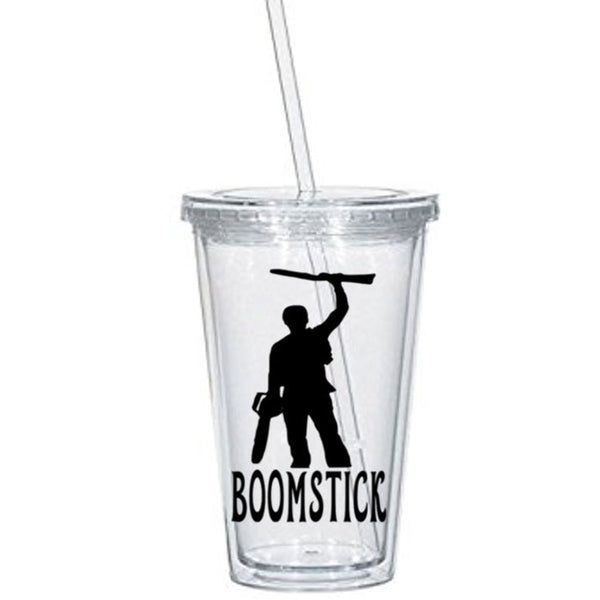 Evil Dead Tumbler Cup Boomstick Ash Williams Army of Darkness Deadite S-Mart Supernatural Slasher Horror Halloween Free Shipping Merch Massacre