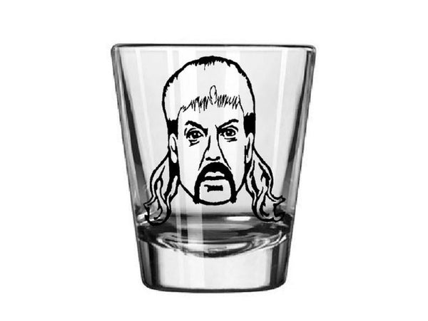 Tiger King Joe Exotic Shot Glass Shot Glass Free Shipping Merch Massacre