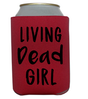 Living Dead Girl Can Cooler Sleeve Bottle Holder Free Shipping Merch Massacre