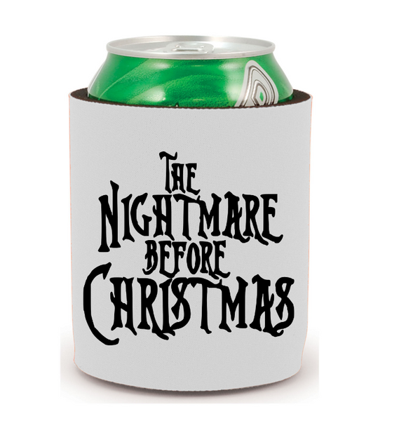 Nightmare Before Christmas Can Cooler Sleeve Bottle Holder Free Shipping Merch Massacre