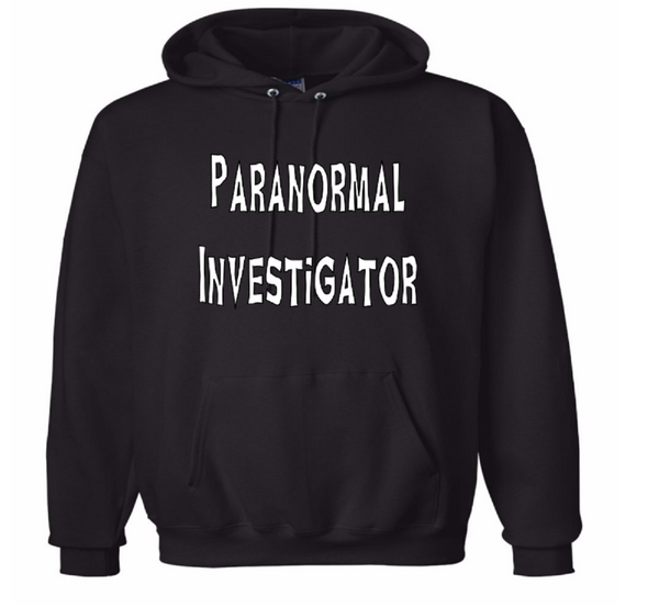 Paranormal Investigator Hoodie Unisex Pullover Hooded Sweatshirt Adult S-5X Clothes Paranormal Horror Free Shipping Merch Massacre