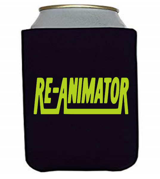Re-Animator Can Cooler Sleeve Bottle Holder Horror Free Shipping Merch Massacre