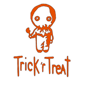 Trick or Treat Sam Vinyl Decal Horror Free Shipping Merch Massacre