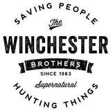 Supernatural Winchester Brothers Vinyl Decal Sticker Sam Dean Saving Hunting Things Horror Free Shipping Merch Massacre