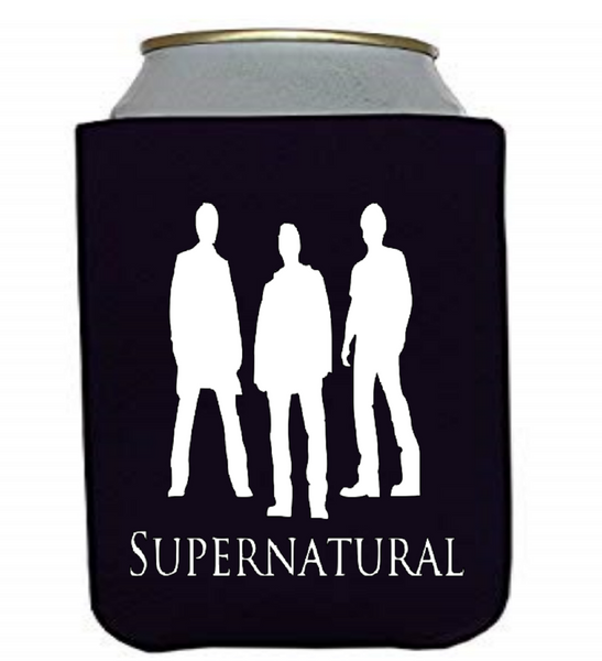 Supernatural Brothers Can Cooler Sleeve Bottle Holder Winchester Sam Dean Free Shipping Merch Massacre