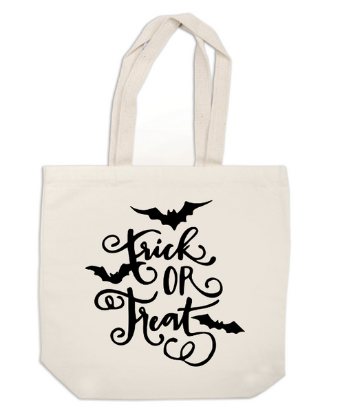 Trick or Treat Canvas Tote Bag Halloween Horror Free Shipping Merch Massacre