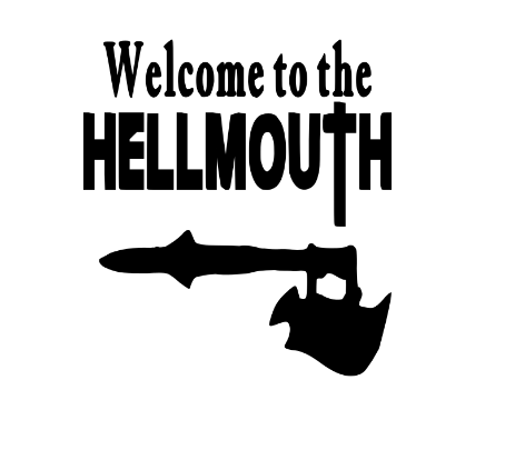 Buffy the Vampire Slayer Hellmouth Vinyl Decal Sticker Mutant Enemy Horror Free Shipping Merch Massacre