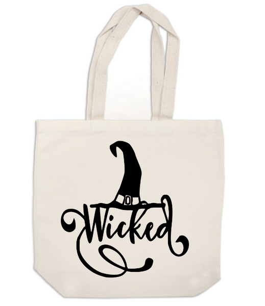 Witch Canvas Tote Bag Wicked Horror Free Shipping Merch Massacre