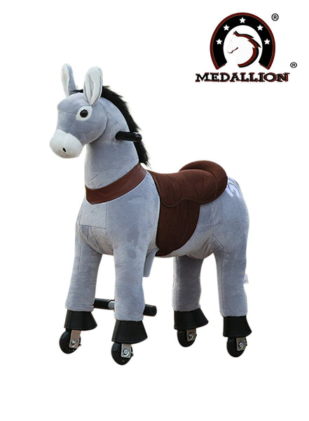 Medallion Ride On Toy Really Walking DANDY DONKEY - Small Size
