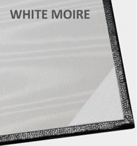 White Moire Inside Panel for Diploma Covers