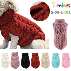 Warm Fleece Dog Sweater