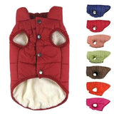 Winter Cotton-Padded Dog Vest