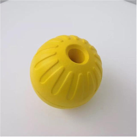 Indestructible Rubber Ball and Rope Toy