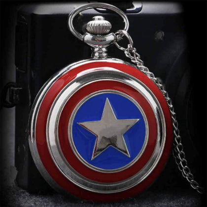 Captain America Pocket Watch - Booh.in