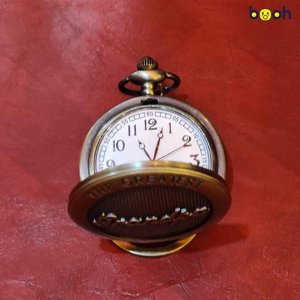 Grandpa Pocket Watch Keychain