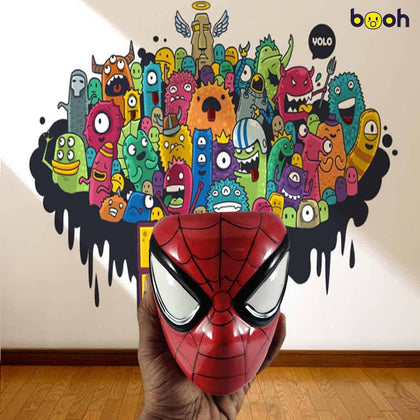 Spiderman Mask 3D Mug - Booh.in