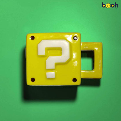 Super Mario Question Block 3D Mug - Booh.in