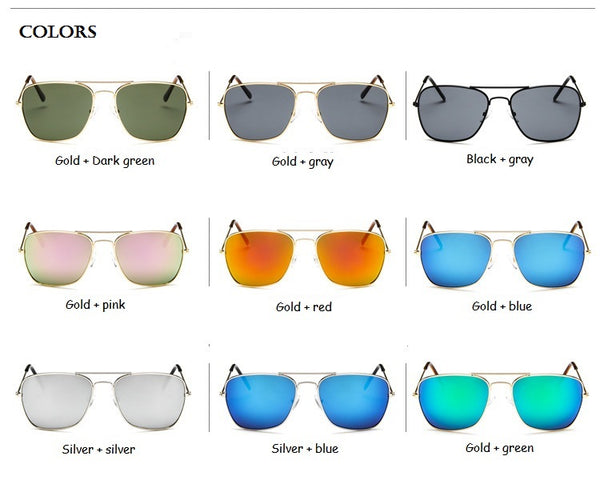 Classic Enforcer Square Sunglasses