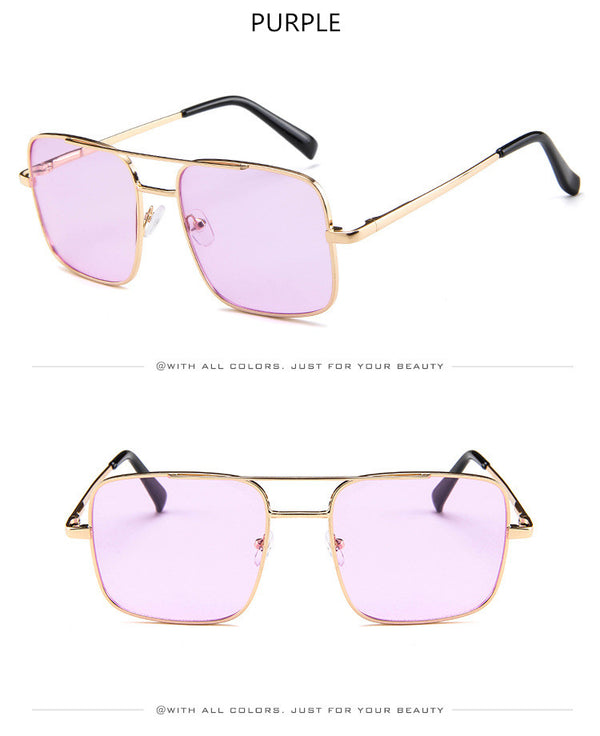 Fashion Square 2018 Sunglasses Men Oversize Driving Cool Sun Glasses Male Retro Vintage Gafas Oversized Shades Female Eyewear