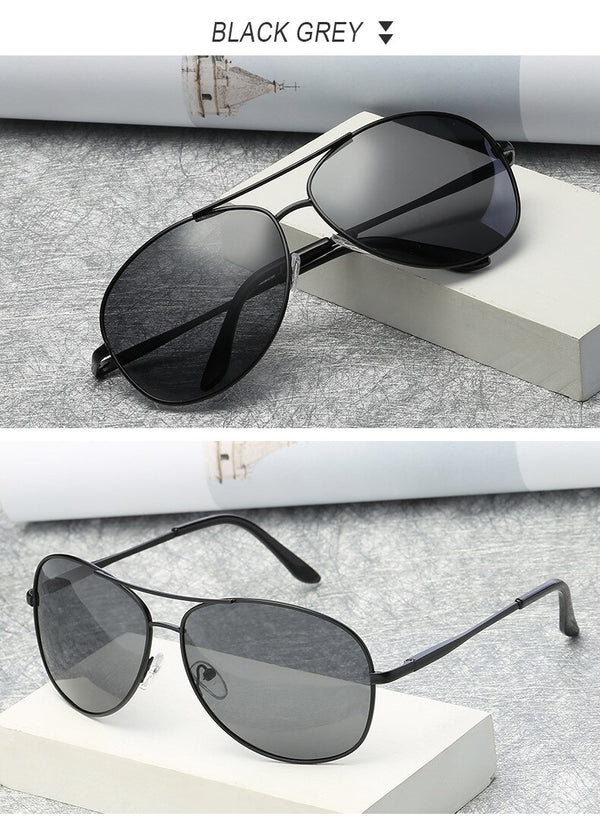 Aviation Spring Hinge Luxury Designer Sunglasses
