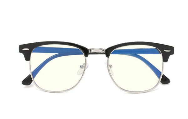 Semi Rimless Thick Rim Anti Blue Ray Eyeglasses