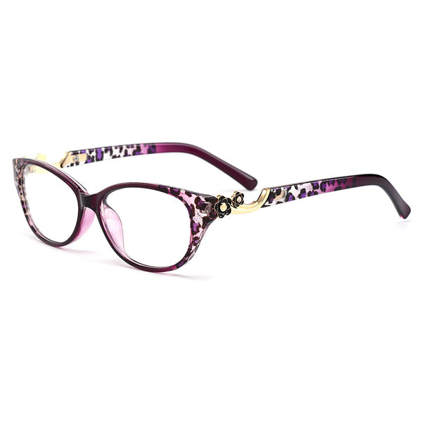 TR90 Ultra-Light Oval Women Eyeglasses