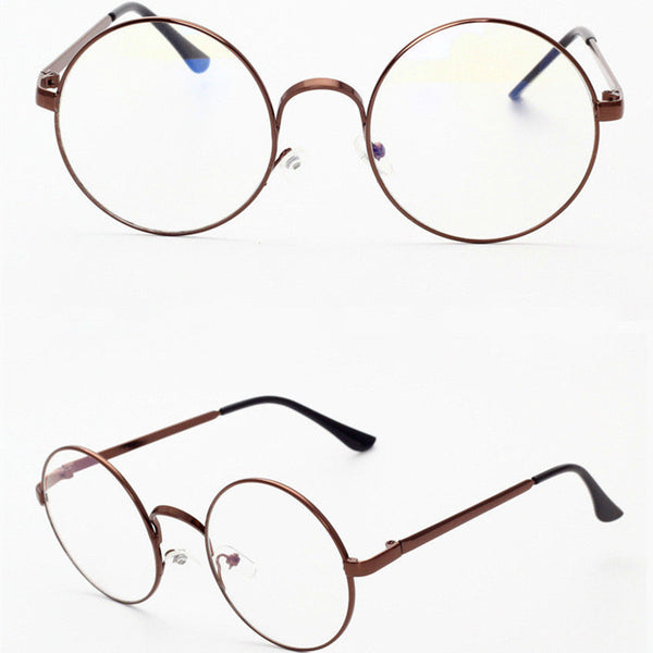 Winter Round Office Fashion Women Eyeglasses