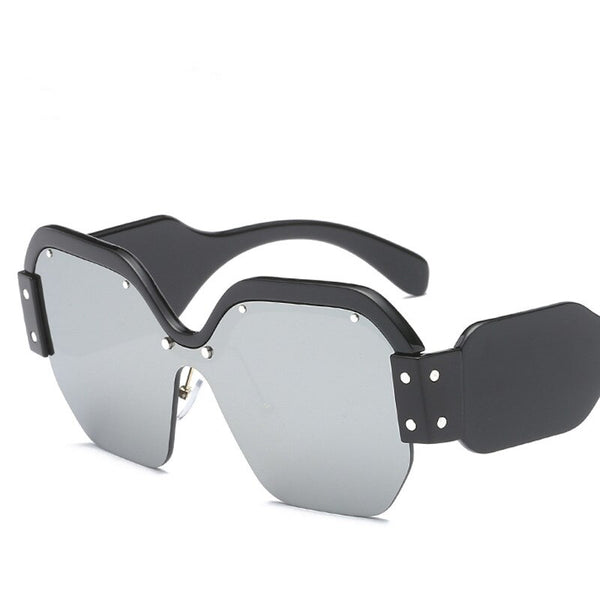 Music Band Temple Oversized Sunglasses