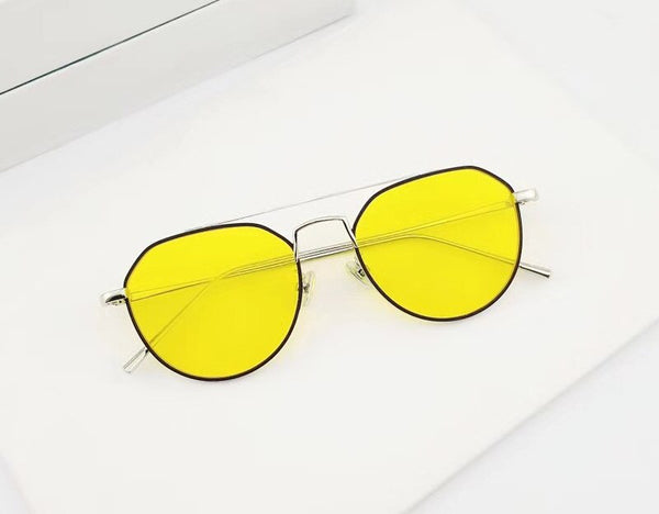 Korean Style Fashion Clear and Tint Eyeglasses