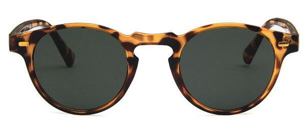 Curtain Small Round Vintage Sunglasses