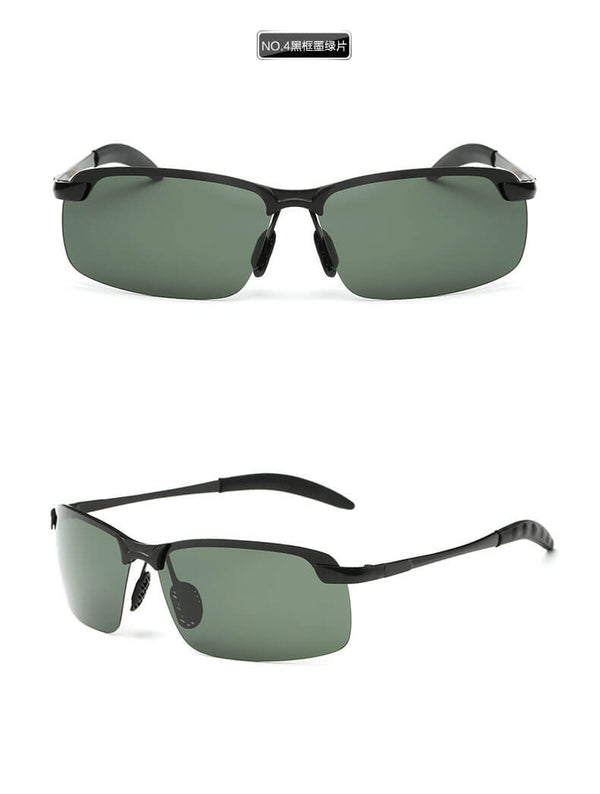 Delicated Polarized Rimless Sunglasses