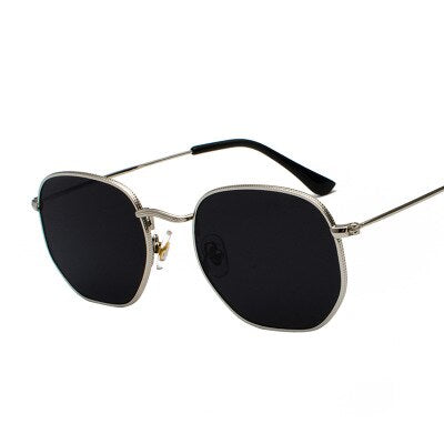 Shey Hexagon Sunglasses
