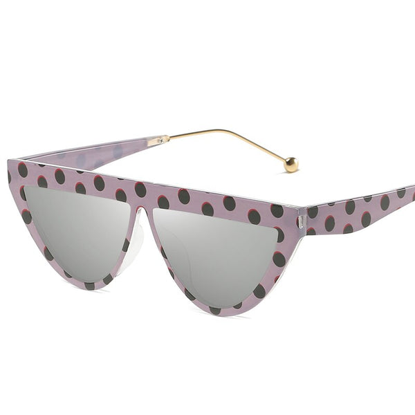 Triangle Dot Frame Sunglasses