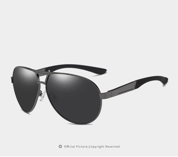 Cool Temple Men Mirror Polarized Sunglasses