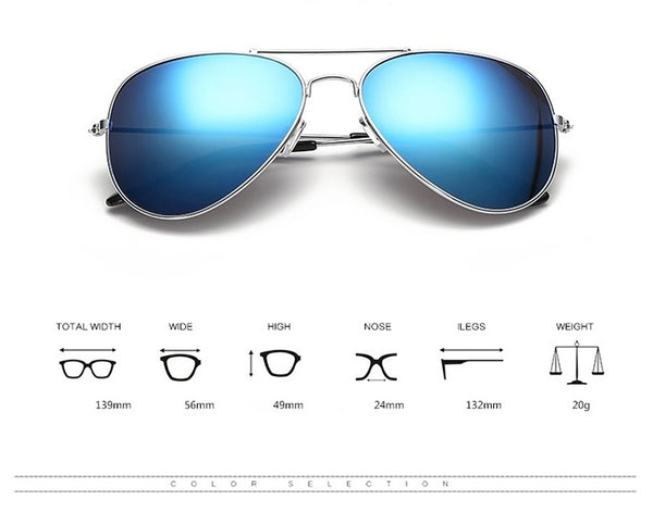 BRAVO Luxury Pilot Sunglasses