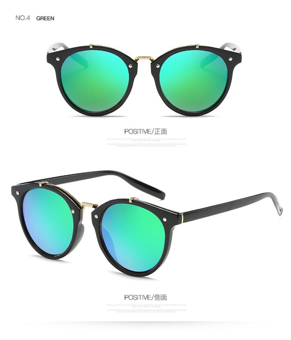 For Your Style Metal Bridge Sunglasses