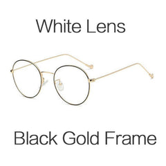 Extra Thin Frame Anti Blue Light Computer Eyeglasses
