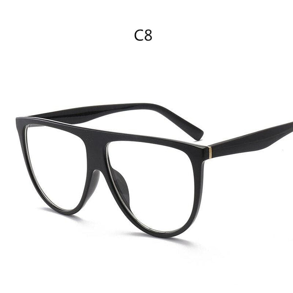 Avant Garde Thin Flat Sunglasses - C8 - Sunglasses