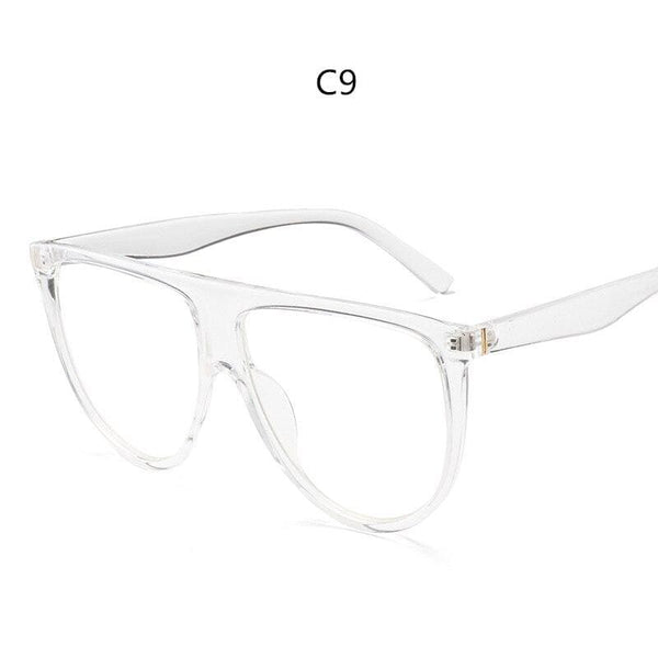 Avant Garde Thin Flat Sunglasses - C9 - Sunglasses