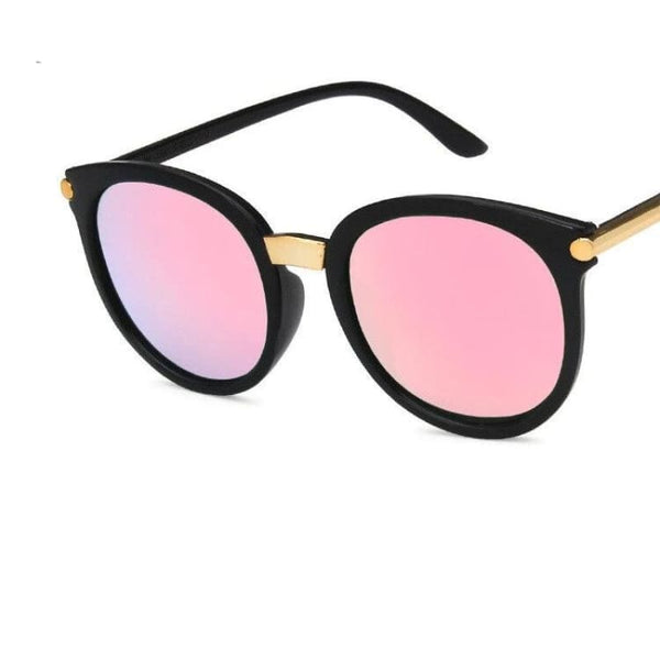 Ladies Chic Fashion Square Sunglasses - C4Pink - Sunglasses