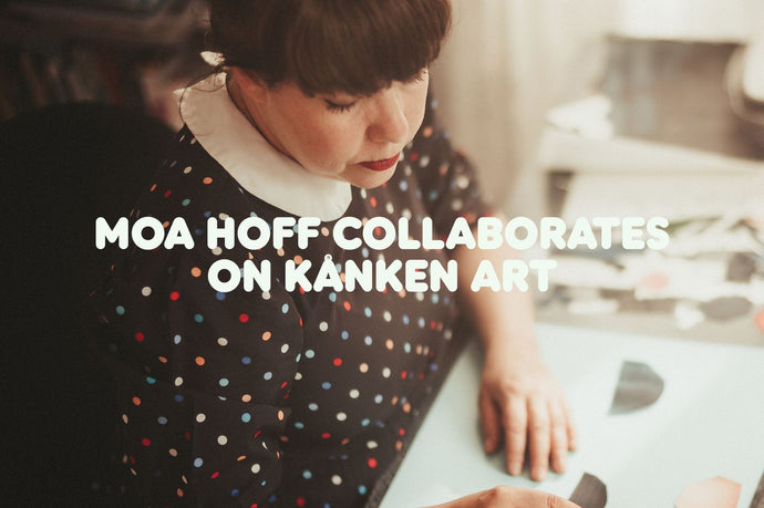 Moa Hoff Collaborates on Kånken Art